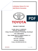 Toyota Kirloskar Motors report