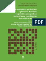 Formacao de Professores e processos de ensino e apendizagem - VOLUME 6