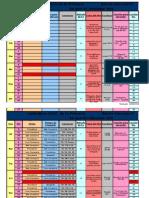 Calendario Semestral de la Primaria 2010