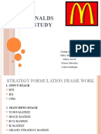 What should be the solution to the following problems regarding the Case Analysis of Mcdonald's Australia?