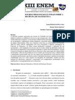 ENEM_OS REFLEXOS DOS DISCURSOS SOCIOCULTURAIS SOBRE A DISCIPLINA MATEMÁTICA