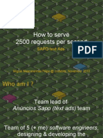 howto serve 2500 ad requests / second