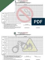 Form Monitoring Merokok Dan Aman Bakar