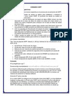 COMANDO OSPF