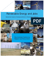Employment Impacts of Developing Markets for Renewables in California | EurOrient