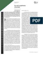 Interdisciplinarity and Complexity