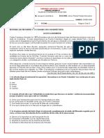 TALLER N°2 COMPRENSIÓN DE LECTURA 11°- I PERIODO