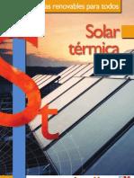 Cuadernos Energias Renovables Para Todos Solar Termica