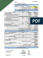 Estructura de Costos Unidad Educativa