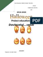 Dovlecelul zambitor-proiect educational