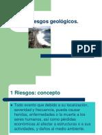 Los riesgos geológicos 2018