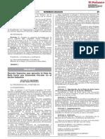DECRETO SUPREMO N° 003-2020-PRODUCE