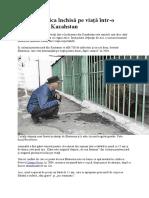 Katia, ursoaica închisă pe viață într-o pușcărie din Kazahstan.docx