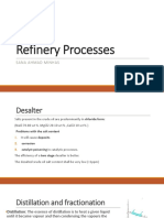 Refinery processes (lecture 10 and 11)