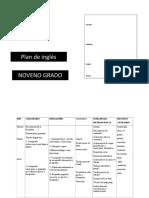 6- Noveno grado planeamiento 2020