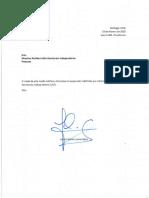 Palacios carta suspensión militancia UDI