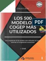 Los 500 Modelos COGEP más Usados Tomo 1.doc