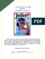 Marjorie Lewty - As Noites do Caribe (Julia 683)