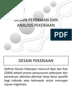 Bab 2. Desain Pekerjaan Dan Analisis Pekerjaan