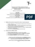 Ponencia FEUC-FECH en Comisión de Educación Cámara de Diputados