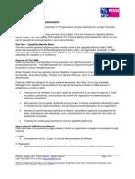 ITIL Process Maturity