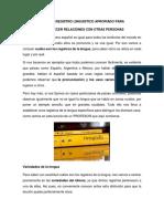 NIVEL DE REGISTRO LINGUISTICO APROPIADO PARA ESTABLECER RELACIONES CON OTRAS PERSONAS.docx