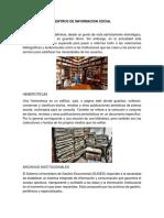 CENTROS DE INFORMACIÓN SOCIAL