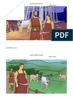 Tezeu si minotaurul - imagini din poveste