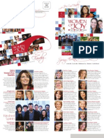 Women of Joy 2011 Spring Brochure