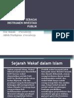 WAKAF SEBAGAI INSTRUMEN INVESTASI PUBLIK.pptx