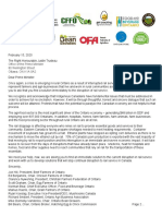 CN Rail Letter From Ontario Agriculture_Final