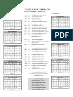 Warrick County School Calendar 2021 2020 21 wcsc calendar