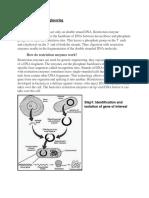 Aspects of Genetic Engineering