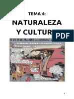 Tema 4 - Naturaleza y Cultura. El origen del patriarcado (1º Bachillerato)