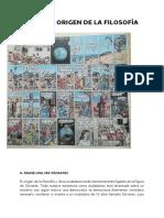 TEMA 0 EL ORIGEN DE LA FILOSOFÍA 2019-2020 (1º de Bachillerato)