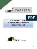 Reglamento Tecnico Campeonato de Aragon de Rallyes 2020 (2)