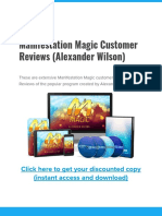 Manifestation Magic Customer Reviews Alexander Wilson and Discount