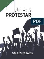 SI QUIERES PROTESTAR