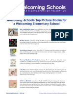 WS Top Books for a Welcoming School