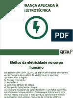 2AULA - RISCOS EM ELETRICIDADE E RISCOS ADICIONAIS