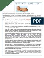 Generalidades del Recien Nacido Sano