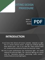 LIGHTING DESIGN PROCEDURE.pptx
