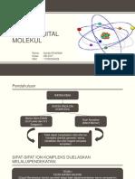 PPT Teori Orbital Molekul Homonuklir, Heteronuklir, Koordinasi.pptx