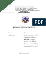 Corte-1 Proceso de Manufactura