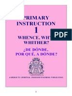 36  Instrucción Primaria 1 - De Donde Por Que A donde
