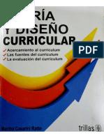 Ratto, C. (2010). Teoría y Diseño Curricular