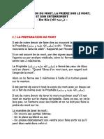 LA PREPARATION DU MORT(ibn Baaz)