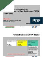 Il futuro della cooperazione SEE (2007-2013)