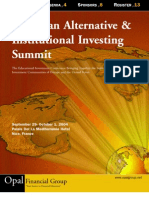 European Alternative & Institutional Investing Summit | EurOrient -- Ron Nechemia