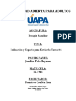 TAREA IV TERAPIA FAMILIAR